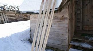 Как подготовить охотничьи лыжи