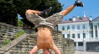 How to learn to do a handstand