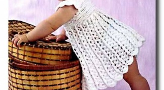 How to crochet child sundress