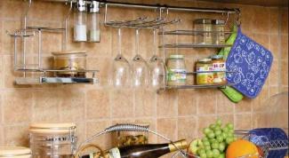 Как установить рейлинг на кухне