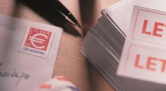 Как наклеивать марки