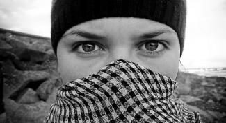 Как завязывать шарф-палестинку
