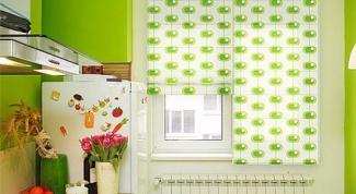 Как украсить окно на кухне