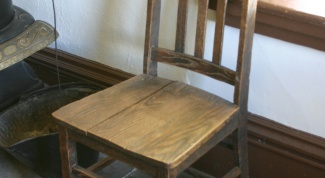 Как обновить старый стул