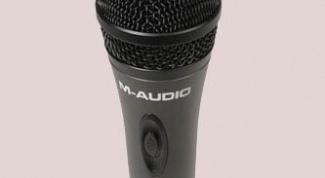 Как подключить динамический микрофон к компьютеру