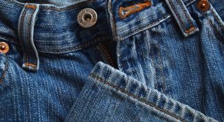 Как отстирать пятно на джинсах