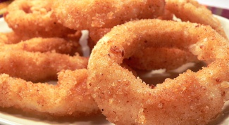 How to cook squid rings in batter