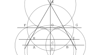 How to inscribe an equilateral triangle in a circle