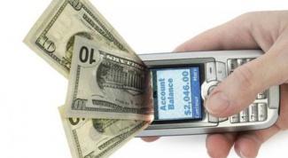 Как снять деньги с мобильного счета