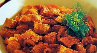 Как приготовить рагу из свинины