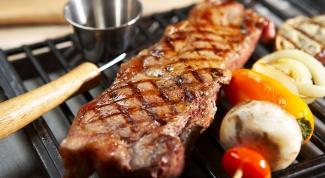 Как приготовить мясо в гриле
