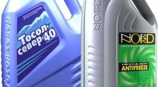 How to determine the antifreeze or antifreeze