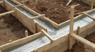 Как заложить фундамент под дом