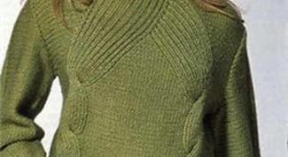 Как вернуть форму свитеру