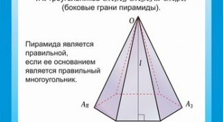 How to determine the height of the pyramid