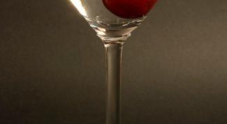 Как готовить мартини