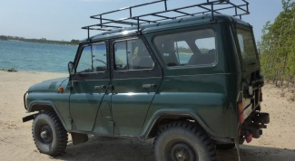 How to make a trunk on UAZ