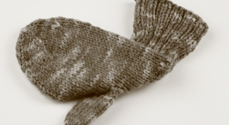 How to knit mitten thumb