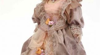 Как сделать куклу из фарфора