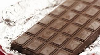 Как нарисовать шоколадку