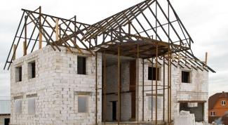 Как построить дом из ячеистого бетона