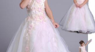 Как сшить платье на выпускной в детском саду