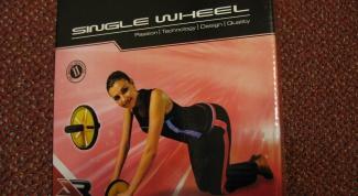 Как делать упражнения с колесом