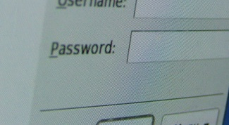 How to go to the page, if you do not remember the password