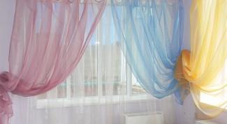 Как стирать шторы из органзы