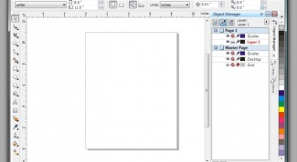How to draw a line in Corel