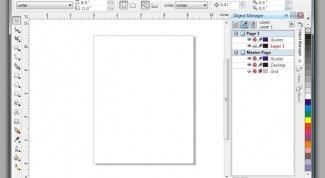 Как нарисовать линию в Corel