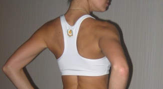 How to remove fat on the shoulder blades