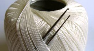 Как закреплять нить при вязании крючком