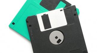 Как скопировать файлы на дискету