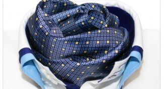 How to sew a neck scarf