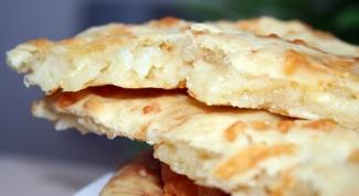 Как приготовить сырную лепешку