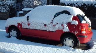 Как завести машину в морозы