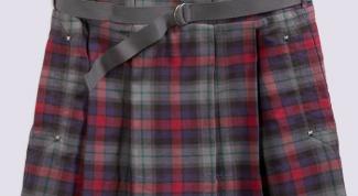 Как шить юбку в складку