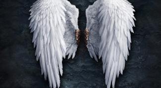 Как сделать ангельские крылья