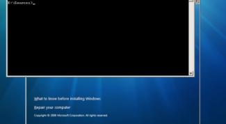 Как установить Windows из командной строки