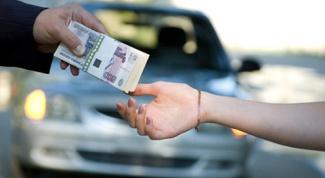 Как платить налог с продажи авто