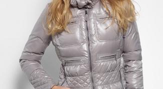 Как убрать блеск с куртки