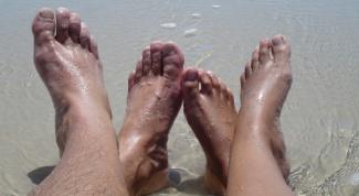 Как избавиться от натоптышей на пальцах ног
