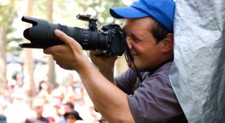 Как поступить на фотографа