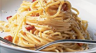 Как готовить спагетти Карбонара