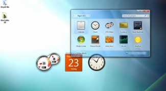 How to enable Windows 7 gadgets