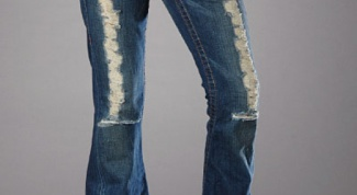 How to put jeans