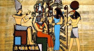 Как оформить папирус