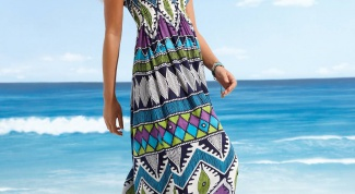 How to sew a beach dress quickly
