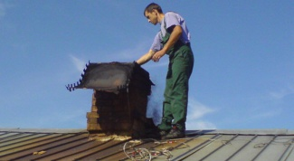 How to insulate a chimney